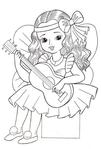 Превью раскраски для девочек 5 (409x604, 160Kb)