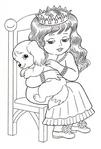 Превью раскраски для девочек 9 (409x604, 151Kb)