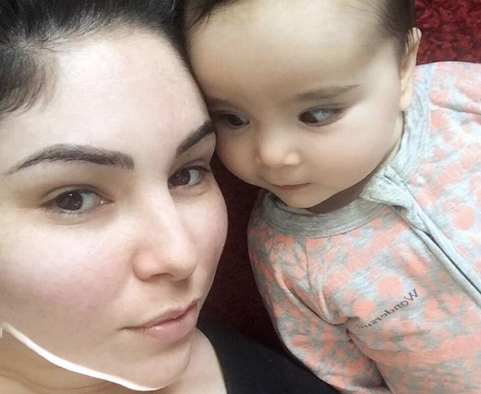 Селфи до и после родов   на редкость здоровое отношение к собственному телу!