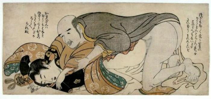 Древняя Япония - родина диких развлечений и сексуальных извращений
