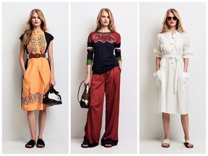Одежда Женская Весна Лето 2017
