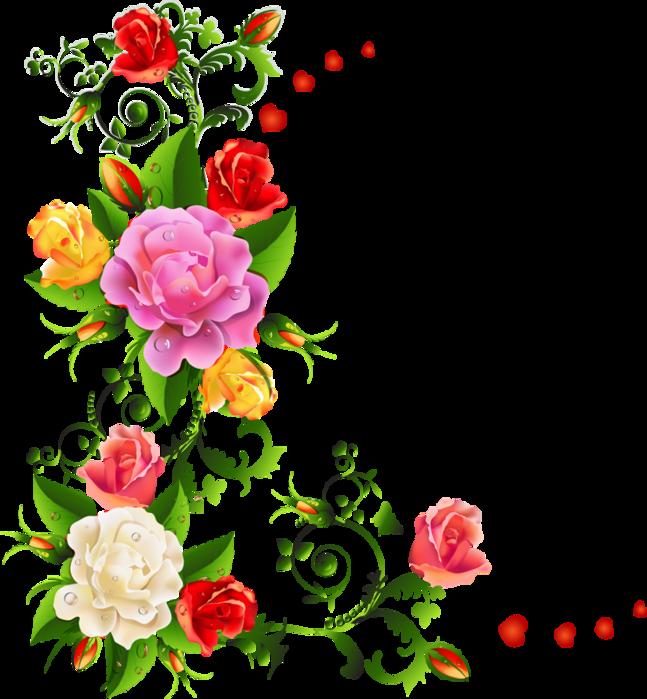 Фотошоп с цветами рисунками