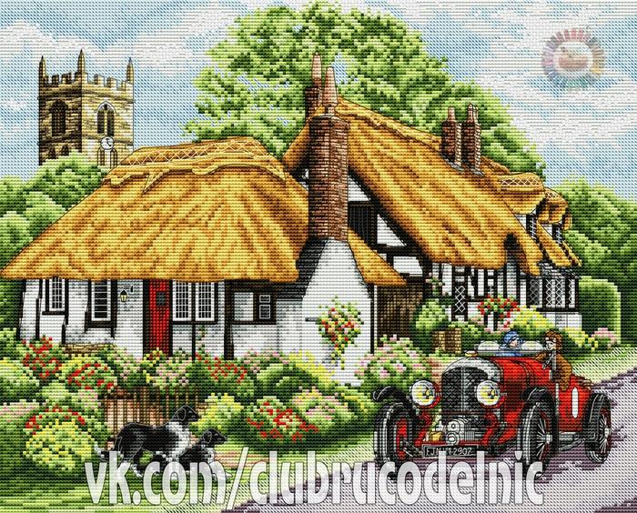 Village of Welford (700x564, 705Kb)