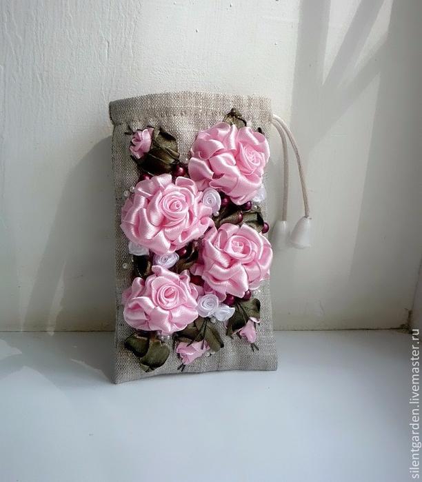 Роза. Вышивка лентами (36) (612x700, 311Kb)