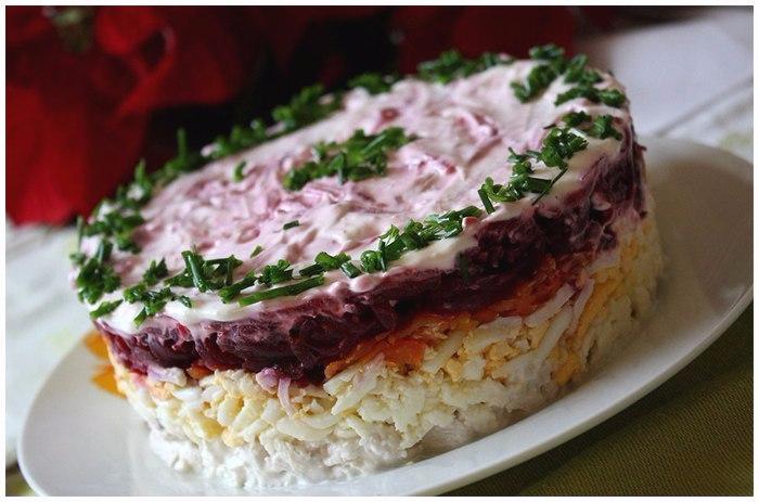 Вкусный салат Мой генерал (4) (700x463, 278Kb)