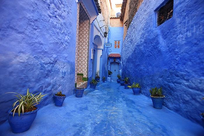город Шефшауэн марокко 2 (700x465, 426Kb)