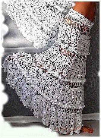 Схема пояса для юбки крючком