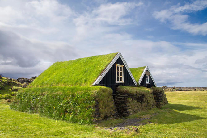 зеленые крыши в скандинавии фото 2 (670x447, 252Kb)