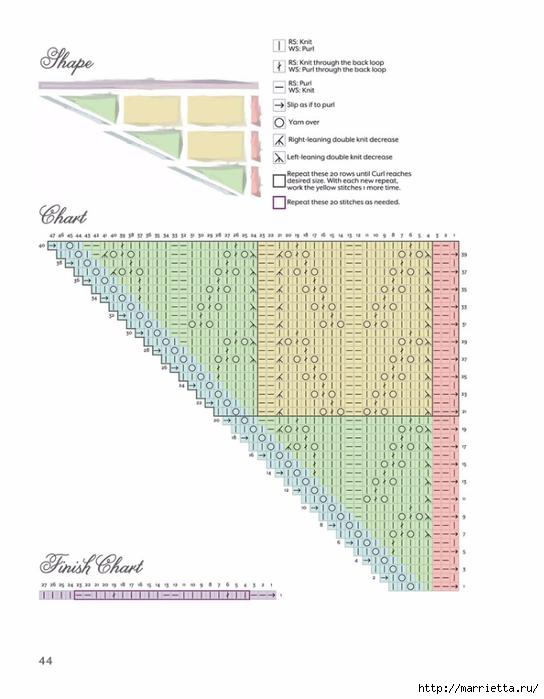 Вяжем спицами БАКТУС. Журнал со схемами (20) (544x700, 168Kb)