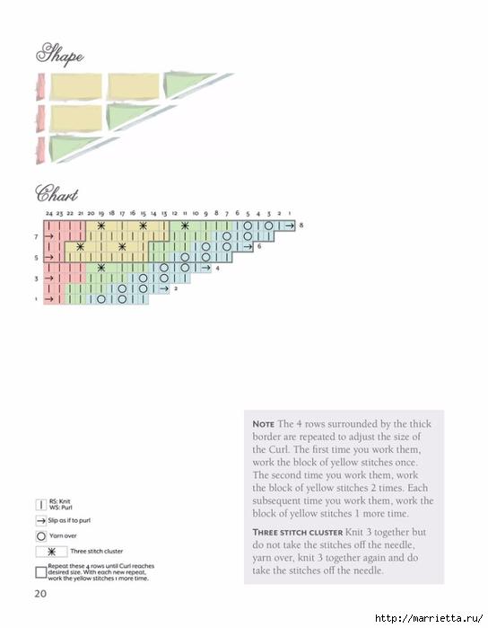 Вяжем спицами БАКТУС. Журнал со схемами (28) (544x700, 97Kb)