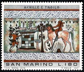 MiSM 1085 Paintings Etruskiers Ахиллес у Трои (294x251, 64Kb)