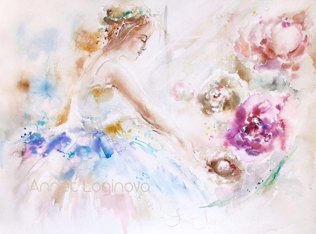 + Акварель Ballet (635x471, 299Kb)
