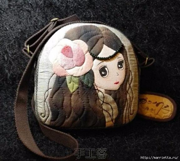 Мастер-класс по пошиву сумочки с аппликацией для девочки (14) (574x512, 188Kb)