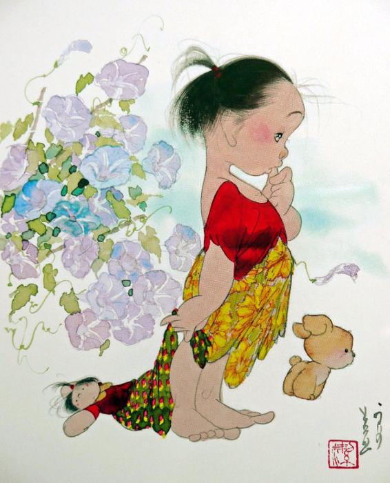 картины Nakajima Kiyoshi 3 (566x700, 487Kb)