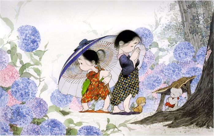 картины Nakajima Kiyoshi 7 (700x443, 387Kb)
