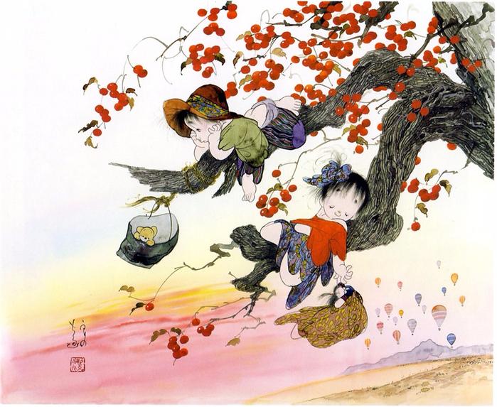 картины Nakajima Kiyoshi 9 (700x573, 501Kb)