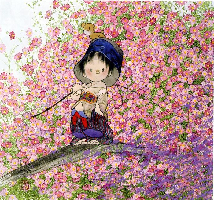 картины Nakajima Kiyoshi 10 (700x655, 892Kb)