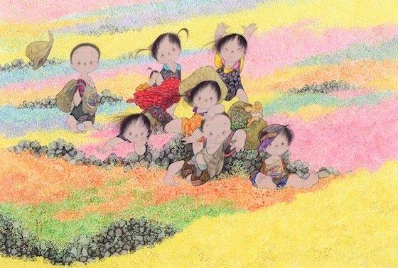 картины Nakajima Kiyoshi 12 (560x378, 267Kb)