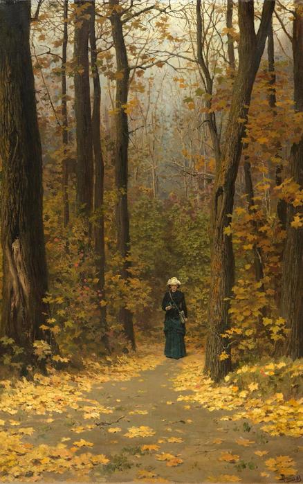 Vasiliy Polenov [Russian Painter, 1844-1927] (438x700, 446Kb)