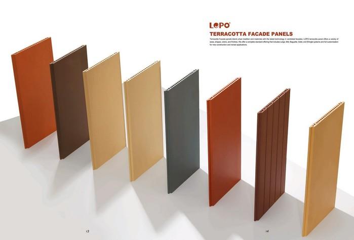 Терракотовые панели: преимущества облицовки стен