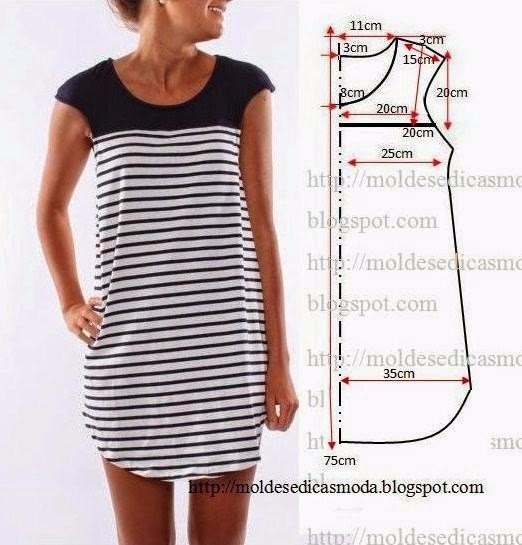 Выкройки женской одежды (522x545, 200Kb)