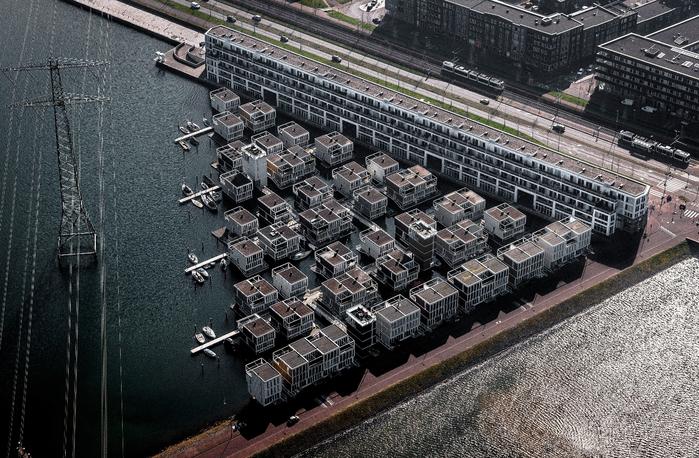 плавающие дома амстердам 9 (700x458, 468Kb)