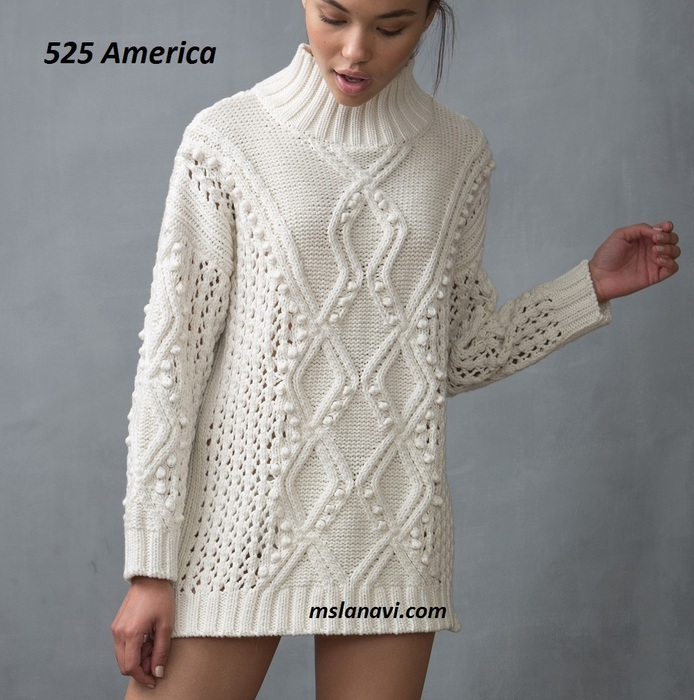 Вязаный-свитер-спицами-от-525-America (1) (694x700, 144Kb)