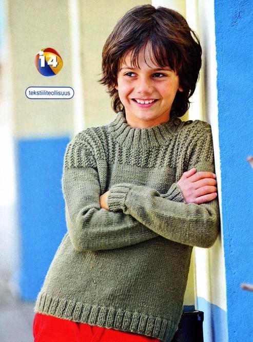Вязание для мальчика подростка свитера 59