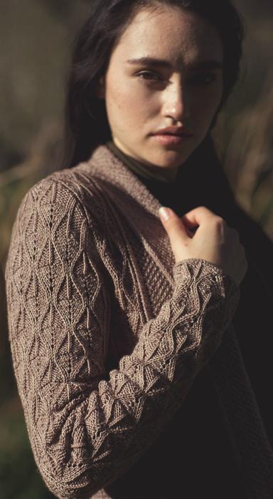 优雅的凯西开衫 - maomao - 我随心动