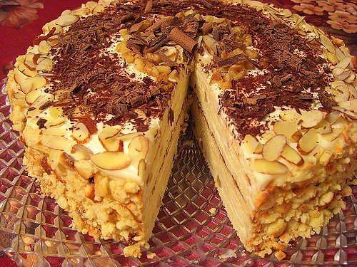 творожный торт Минутка (500x375, 303Kb)