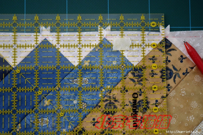 Лоскутное панно-ковер на стену. Пошаговый МК (18) (690x457, 329Kb)
