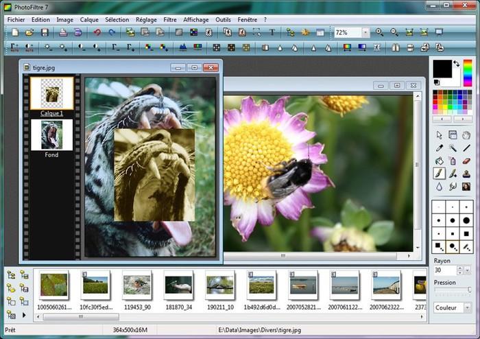 Бесплатная программа PhotoFiltre   удобный графический редактор