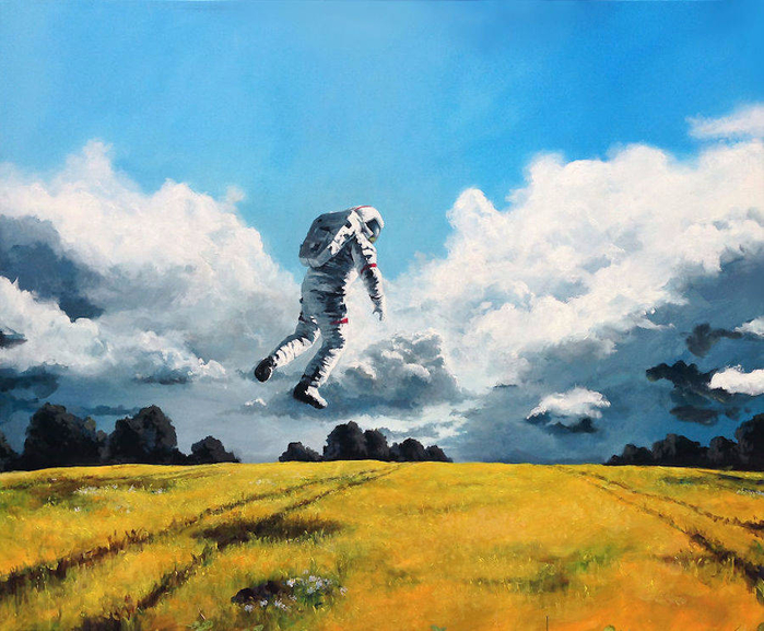 Nice-Paintings-of-Astronauts-in-Diverse-Situations-1-900x743 (700x577, 480Kb)