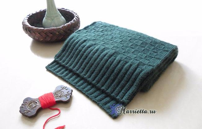 针织男式围巾 - maomao - 我随心动