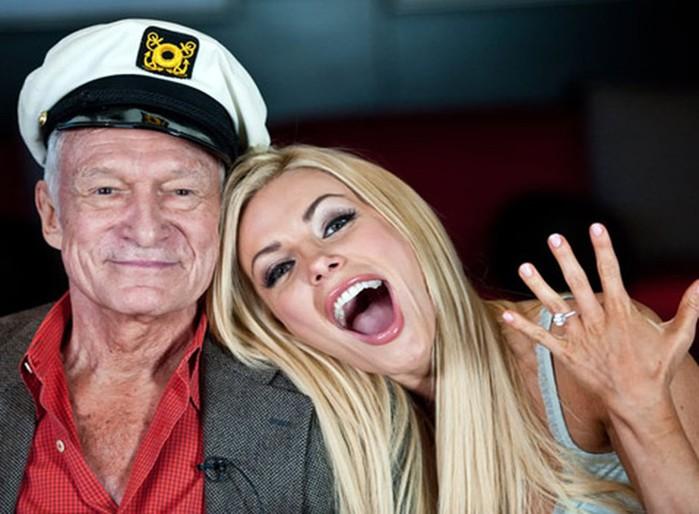 Основатель Playboy Хью Хеффнер похудел на 40 кг из-за серьезной болезни
