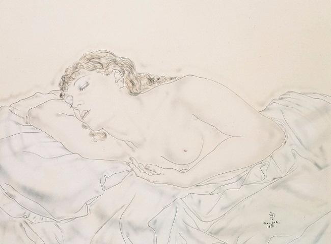 1933_Лежащая обнаженная (Мадлен) (Nu allonge (Madeleine)) (650x480, 170Kb)