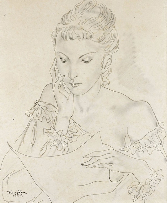 1949_Письмо (La Lettre) (576x700, 328Kb)