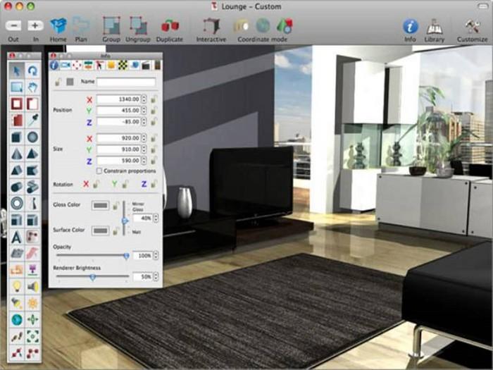 Программы для планирования интерьера и расстановки мебели