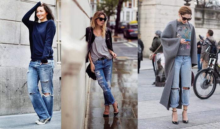 Какое отношение сегодня джинсы имеют к бойфрендам.