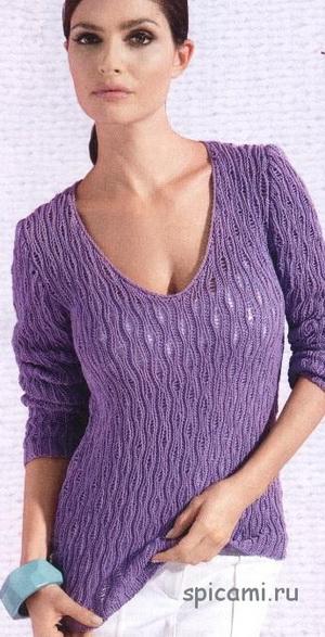 пуловер (300x587, 89Kb)