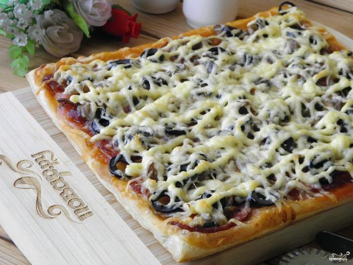 рецепт закрытой пиццы с рикоттой и брокколи