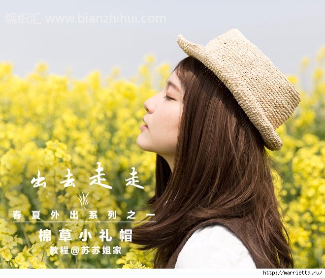 Вязание крючком шляпки для девочки (9) (660x565, 284Kb)