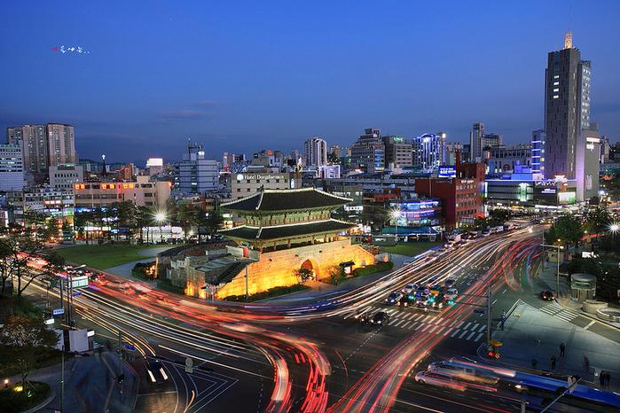 сеул фото города 2 (700x466, 525Kb)