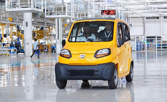 Самый дешевый автомобиль мира Qute появился «на полках» России — 2 тыс. долларов