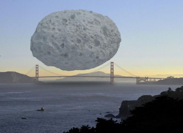 Классные фото! Наглядное сравнение огромных объектов друг с другом