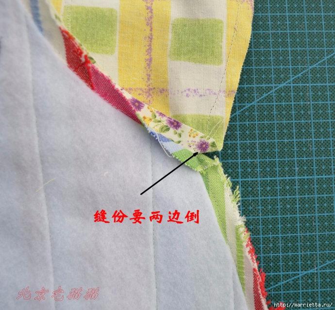 Шьем сумку интересного дизайна. Выкройка и мк (13) (690x638, 287Kb)