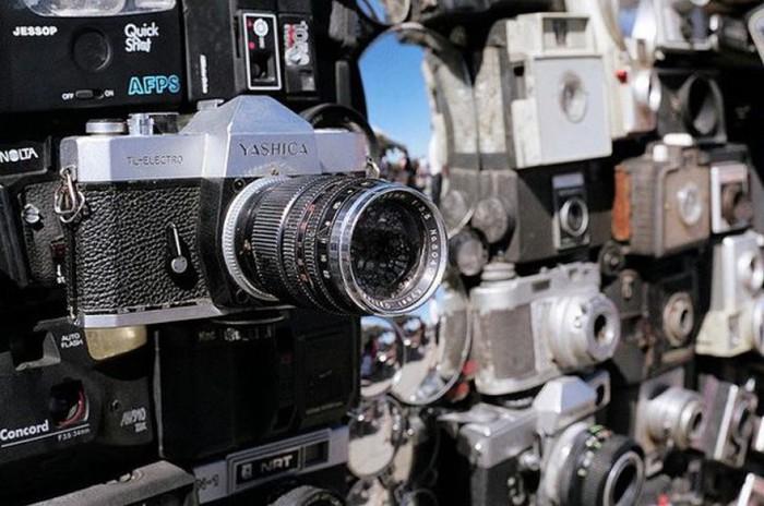 Большой Брат следит за тобой! Фотографии обвешанного фотокамерами минивэна