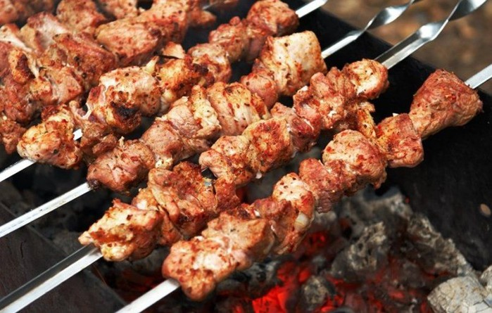 Шашлык «Косичка»   интересный рецепт на майские праздники