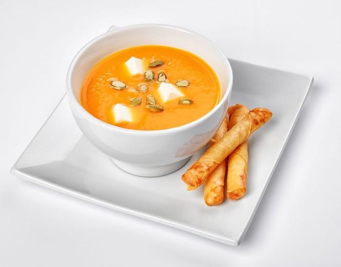 Крем суп из тыквы   простой, но очень вкусный рецепт