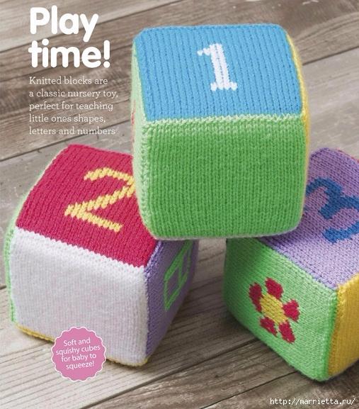 Вяжем спицами детские кубики (5) (507x577, 247Kb)